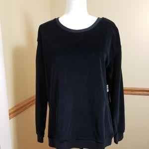 Jessica Simpson The warm up sweater black